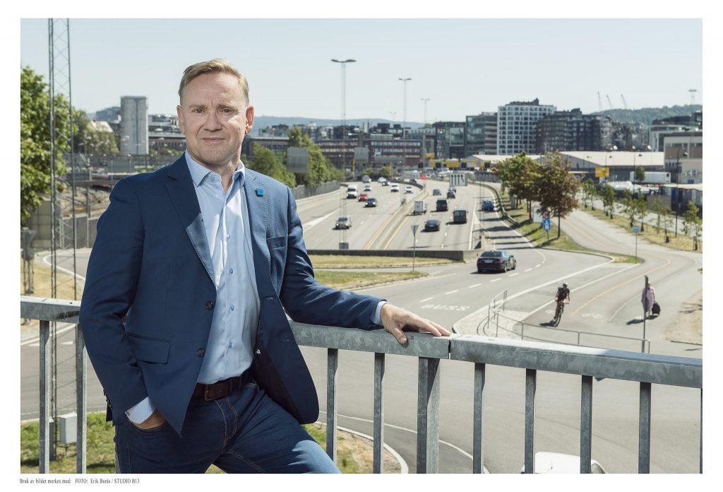 Daglig leder i Trafikksikkerhetsforeningen, Geirr Tangstad-Holdal